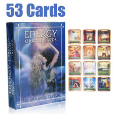 Energy Oracle Cards 53 Card Deck Cards by Sandra Anne Taylor Tarot Kit Home Game