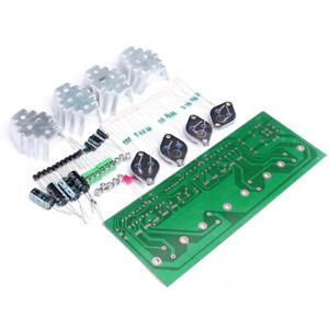 KIT Amplificatore Audio Transistor DIY 3DD15D (no 2N3055) Stereo 100W+100W