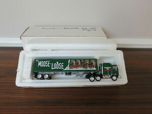 #19 Matchbox Collectible Moosehead Kenworth Cab Over Engine Die Cast 1:10 COA