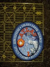NASA Patch ATLAS (Free shipping on 3 or more)