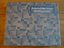 AUTOMOBILES VOISIN 1919 - 1958 CAR BOOK jm