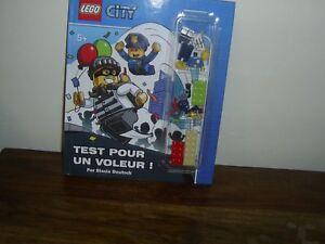 lego city test pour un voleur  avec figurine