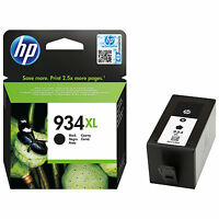 GENUINE 2017 DATED HP 934 XL C4906AE BLACK CARTRIDGE 6230 6830 FAST FREE POSTAGE