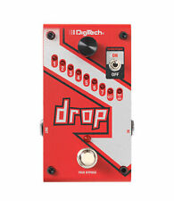 Digitech The Drop Pitch Shifter Pedal Polyphone Drop-Tune Stompbox True Bypass