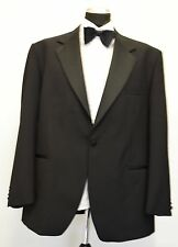 MS700 JAMES BARRY MEN'S BLACK DINNER SUIT JACKET BLAZER CHEST   44