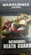 Warhammer 40K Chaos Space Marine DATACARDS: DEATH GUARD Plague Marine Rule Cards