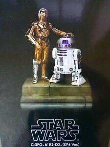 STAR WARS KOTOBUKIYA ARTFX C-3PO and R2-D2 (EP4 VER.) 1/7 Scale Pre-Painted