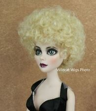 Wig for Evangeline or Parnilla  Ghastly. sz 6/7 ..  Annie Wig .. Pale Blonde
