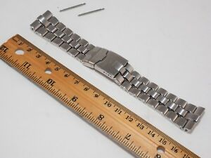 BREITLING 24mm Stainess Steel Bracelet Rf. 891A. Part # S0605. Breitling Watches