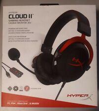 Kingston HyperX Cloud II Gaming Headset 7.1 Virtual PC/PS4/XBOX KHX-HSCP-RD