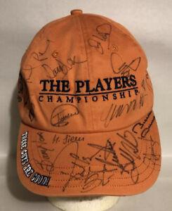 Adam Scott-Miguel Angel Jimenez Signed The Players Championship Hat TPC Sawgrass