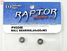 Thunder Tiger PV0048 Coussinets 4x8xW3 (2) Ball Bearing modélisme