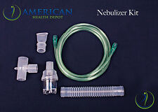 3 Disposable Aerosol Nebulizer Kits w/ Tee Tubing, Mouthpiece by Drive Medical