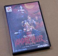 Vampire Killer SEGA Mega Drive MD W/Box manual Authentic