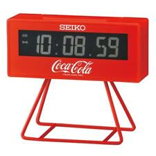 Seiko QHL901R Limited Edition Coca-Cola LCD Stop Watch & Count Down Alarm Clock
