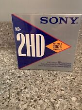 """Sony MD 2HD Floppy Disks 5.25"""" Double Sided 1.6MB Pack of 10"""