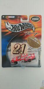 2002 #21 Elliott Sadler Motorcraft 1:64 Hot Wheels