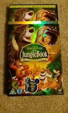 DISNEY THE JUNGLE BOOK 40th Anniversary w/O-Ring Case DVD UK Region 2 (2007) NEW