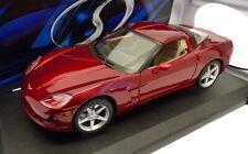 Maisto 1/18 Scale Model Car 31117 - 2005 Chevrolet Corvette Coupe - Metallic Red