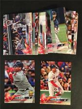 2018 Topps Boston Red Sox Team Set Series 1 2 Update 32 Cards World Series Champ