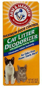 Arm and Hammer Cat Litter Deodorizer Powder 3 Pack