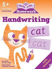 Help With Homework - Handwriting - 5+ Key Stage 1 *FREE P&P*