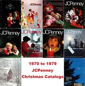 JCPenney Christmas Catalogs on Disc (1970-1979)