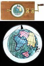 PLAQUE ASTRONOMIQUE  vers 1860 / lanterne magique magic lantern / 534