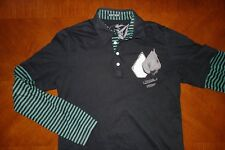 VOLCOM Long Sleeve Double Layer Polo Shirt | Small | Good Cond ø Element Hurley