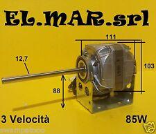 Motore Elettrico Monofase 3 velocità fan coil condizionatore 85 W