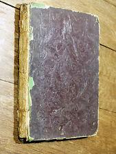Clément Pruche & James VOYAGE AU PAYS DU BONHEUR A. Desesserts 1844 LITHOGRAPHIE