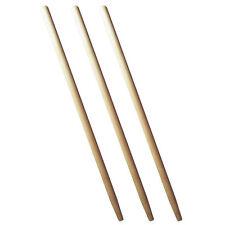 3 x Spatenstiel Grabegabel Spatengabel Stiel Holzstiel  100cm Set Ø 38