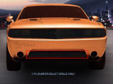 Fits 2011-2014 Dodge Challenger Black Billet Grille Grill Bumper