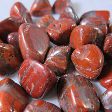 Red Tiger Iron Tumbled Stone Large QTY 3 PIECES Healing Crystal Energy Stamina