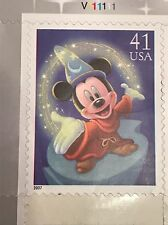 Usps The Art Of Disney Magic Mickey Mouse Sorcerer Apprentice 2007 41 Cent Stamp