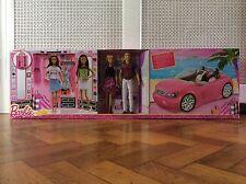 NUOVO con scatola Barbie Dress Up & Go 2 Bambole, GLAM auto, Ultimate ARMADIO Bundle
