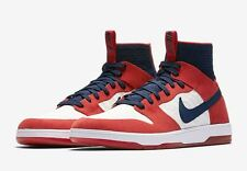2017 NIB MENS NIKE SB ZOOM DUNK HIGH ELITE SHOES $400 7 university red navy