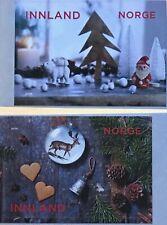 Norwegen 2018 Neuheit Weihnachtsmarken Renntier Herzen Weihnachtskugel