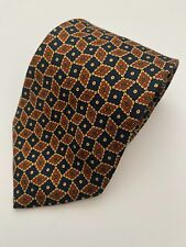 Brooks Brothers Blue Red Check 100% Silk Tie