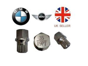 Mini, BMW Locking Wheel Nut Key ABC 35 Type 19 Splines