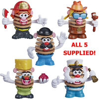 Disney Mr Potato Head Chips Crisps Set Of 5 Flavour Figures - RARE - Toy Story