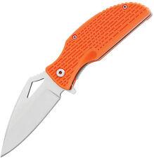 Meyerco 1124 A/O Folding Knife Folder Blade Fire Starter/Orange Handle