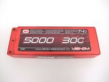 Venom LiPo 2S 7.4V 5000mAh 30C Hard Case Race Pack Battery 15080