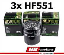 3x HIFLO Filtro Aceite Filtro HF551 Moto Guzzi Norge 1200 Gt 8V ABS