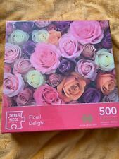 Floral Delight 500 Piece Jigsaw Puzzle