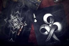 Bicycle Ellusionist Artifice Black Deck - BLACK CLUB Playing Cards Magic Poker