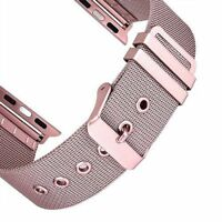 For Apple Watch 4 40/44mm Milanese Stainless Steel Buckle Bracelet Strap Band