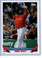 David Ortiz 2019 Topps Archives 5x7 #285 /49 Red Sox
