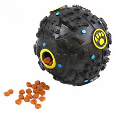 Pet Dog Giggle Ball Tough Treat Sound Activity Training Squeaky Chew Toy Fetch