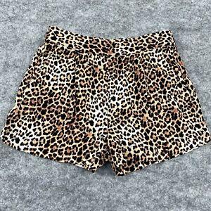 Decjuba Kids Girls Shorts Size 12 Years Leopard Print Pockets